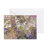 Nature's Floral Arrangement Greeting Cards (Pk of