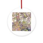 Nature's Floral Arrangement Ornament (Round)