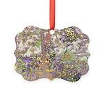 Nature's Floral Arrangement Picture Ornament