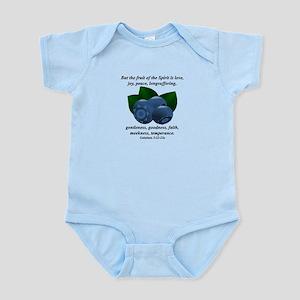 Fruit of the Spirit - Blueberries Infant Bodysuit