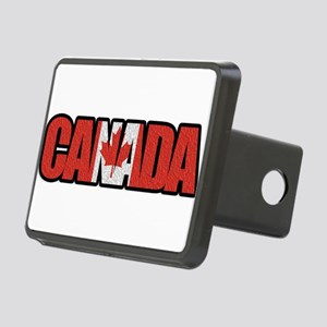Canada Word Rectangular Hitch Cover