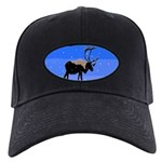 Winter Caribou Black Cap with Patch