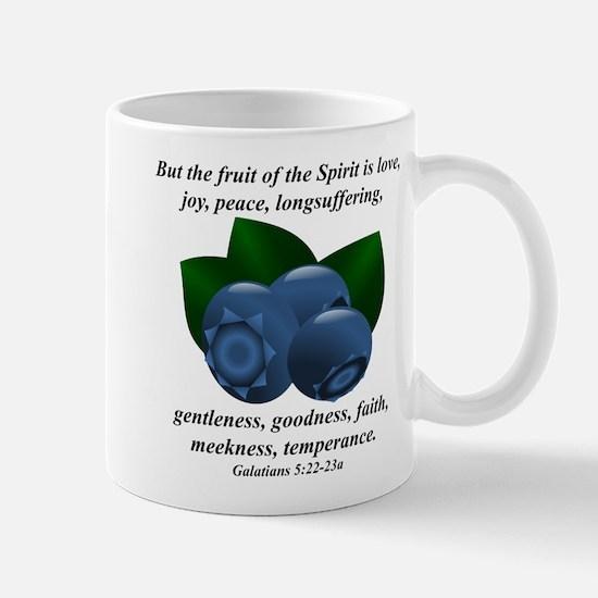 Fruit of the Spirit - Blueberries Mug