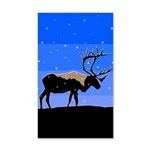 Winter Caribou 35x21 Wall Decal