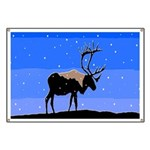 Winter Caribou Banner