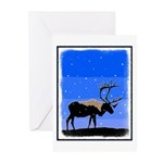Winter Caribou Greeting Cards (Pk of 20)