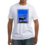 Winter Caribou Fitted T-Shirt
