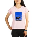 Winter Caribou Performance Dry T-Shirt