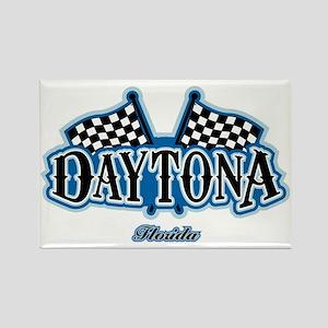 Daytona Flagged Rectangle Magnet