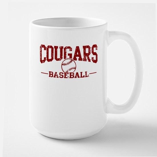 Cougars Baseball Large Mug