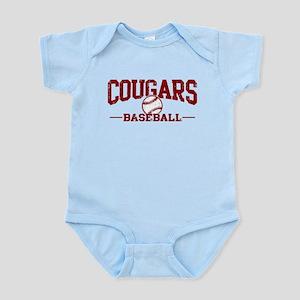 Cougars Baseball Infant Bodysuit