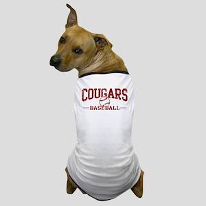 Cougars Baseball Dog T-Shirt