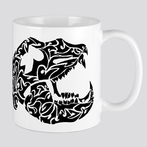 Bear Skull Tribal Tattoo Mug