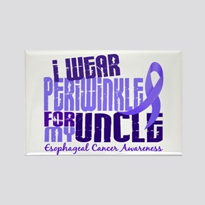 I Wear Periwinkle 6.4 Esophageal Cancer Rectangle