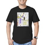 The Monday Morning Fix Men's Fitted T-Shirt (dark)