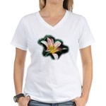 Day Lily Women's V-Neck T-Shirt