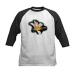 Day Lily Kids Baseball Jersey