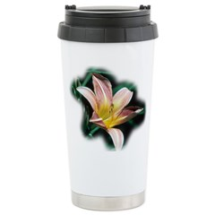 Day Lily Stainless Steel Travel Mug