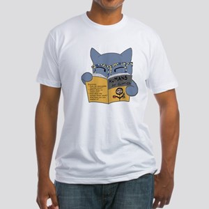 """""""Humans for Dummies"""" Fitted T-Shirt"""