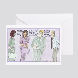 The Brown Nosers Greeting Cards (Pk of 10)