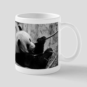 Black and White Panda Mug