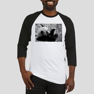 Black and White Panda Baseball Jersey