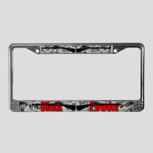 Black Powder Plate Frame