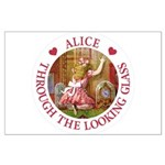 Alice Through The Looking Glass Large Poster