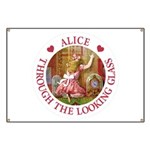 Alice Through The Looking Glass Banner