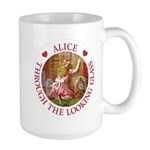 Alice Through The Looking Glass Large Mug