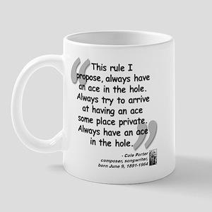 Porter Ace Quote Mug