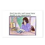 No Layoffs Postcards (Package of 8)