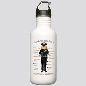 Grammar Police Stainless Water Bottle 1.0L