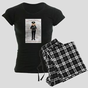Grammar Police Women's Dark Pajamas