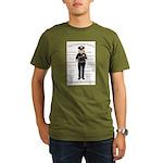 Grammar Police Organic Men's T-Shirt (dark)