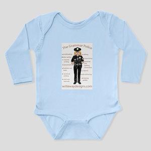 Grammar Police Long Sleeve Infant Bodysuit
