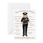 Grammar Police Greeting Cards (Pk of 10)
