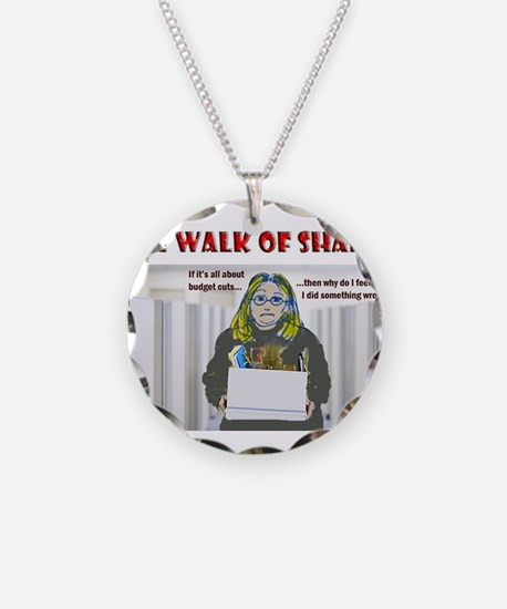 The Walk of Shame Necklace