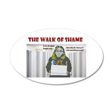 The Walk of Shame Wall Decal