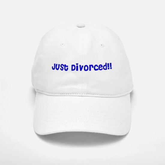Just Divorced!! Baseball Baseball Cap