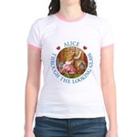 Alice Through The Looking Glass Jr. Ringer T-Shirt