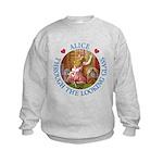 Alice Through The Looking Glass Kids Sweatshirt