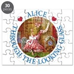 Alice Through The Looking Glass Puzzle