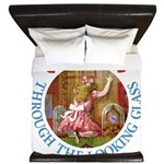Alice Through The Looking Glass King Duvet