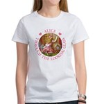 Alice Through The Looking Glass Women's T-Shirt