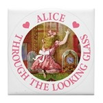 Alice Through The Looking Glass Tile Coaster
