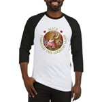 Alice Through The Looking Glass Baseball Jersey