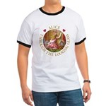 Alice Through The Looking Glass Ringer T