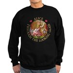 Alice Through The Looking Glass Sweatshirt (dark)