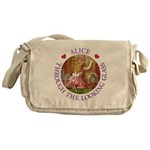 Alice Through The Looking Glass Messenger Bag